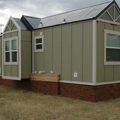 The unnamed towable tiny house is legally classified as an RV and measures 26 ft (7.9...