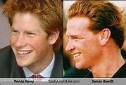 Prince Harry & James Hewitt