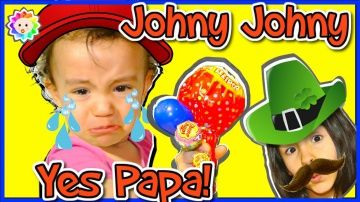 JOHNY JOHNY Yes Papa Song - Learn COLORS with Candy and SIMPLE SONGS for BABIES | Real BABY Crying http://video-kid.com/21058-johny-johny-yes-papa-song-learn-colors-with-candy-and-simple-songs-for-babies-real-baby-crying.html  NEW JOHNY JOHNY Yes Papa Song! Eating sugar, No papa Rhymes !  Real baby crying learn colors with simple songs for Babies and Nursery rhymes. Please SUBSCRIBE our channel! ►