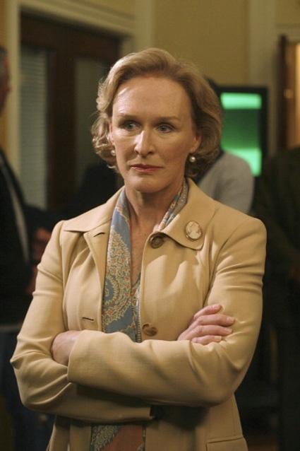 Glenn Close as Evelyn Baker Lang - The West Wing (2004)
