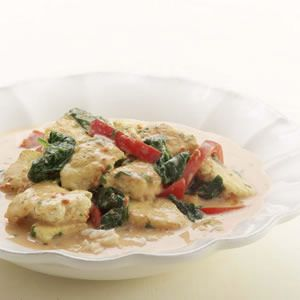 Creamy Thai curry sauce gives tofu a spicy, satisfying kick. You can ...