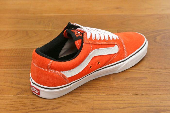 VANS TNT 5 -Orange/ White