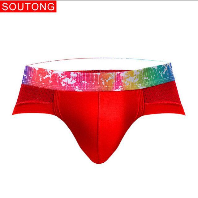 Plus Size L-XXXL 9 Colors Men Sexy Lingerie Breathable Cotton Underwear Male Boys Underpants Soft Briefs Panties Knickers Feb22