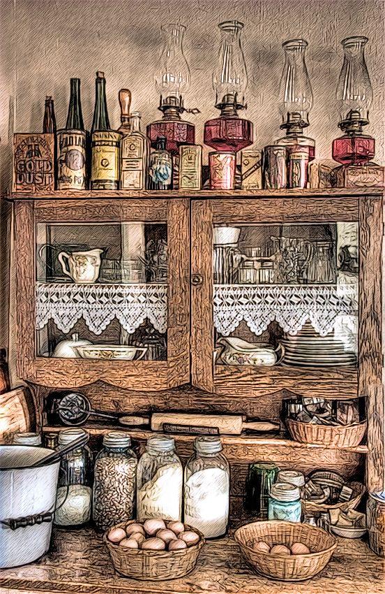 Antique-Cabinet.+a+png (552×850)