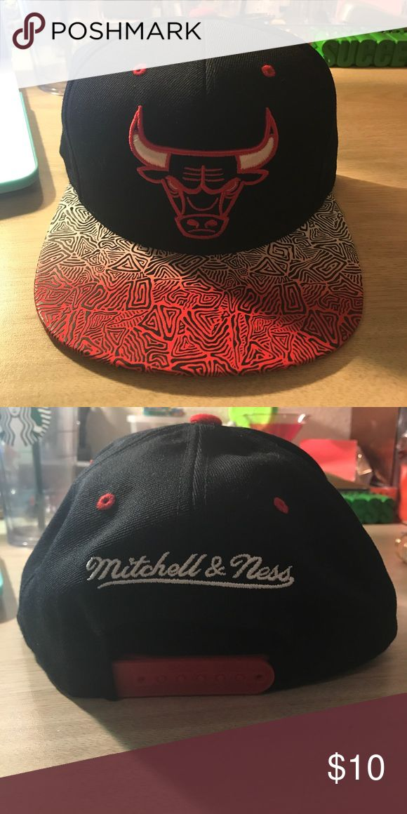 Chicago Bulls SnapBack Hat A hat for the Chicago bulls basketball team. Accessories Hats