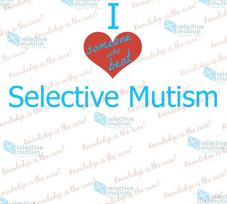 selective mutism This anxiety disorder causes some children -- mostly girls -- to nearly completely avoid talking in certain situations, such as school this is what's known about selective mutism's causes and treatment.