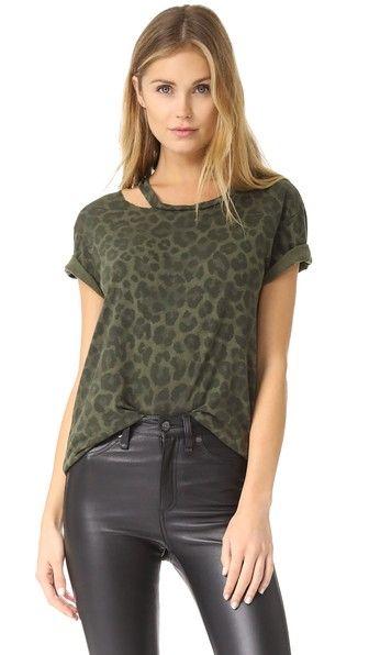 Pam & Gela Leopard Print Tee | SHOPBOP