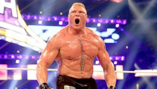 مفاجأة قد يتم منع بروك ليسنر من المشاركة في راسلمينيا 36 سبورت 360 يواجه الوحش بروك ليسنر بطل Wwe خطر الغياب عن مهرجان راسلمين Wwe Brock Lesnar Wrestler