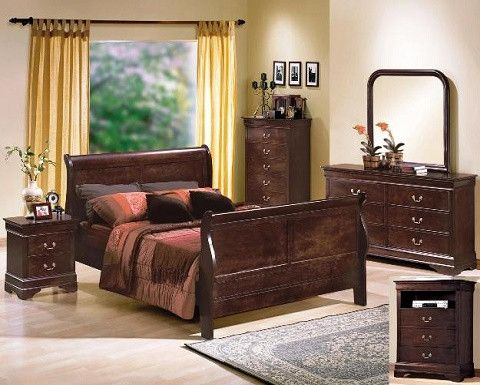 Crown Mark (b3775) 4 Piece Queen Size Bedroom Set