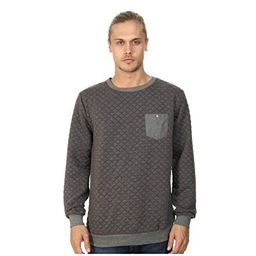 (ソブリンコード) Sovereign Code メンズ トップス トレーナー・パーカー Gravel Crew Neck Sweatshirt 並行輸入品  新品【取り寄せ商品のため、お届けまでに2週間前後かかります。】 表示サイズ表はすべて【参考サイズ】です。ご不明点はお問合せ下さい。 カラー:Charcoal