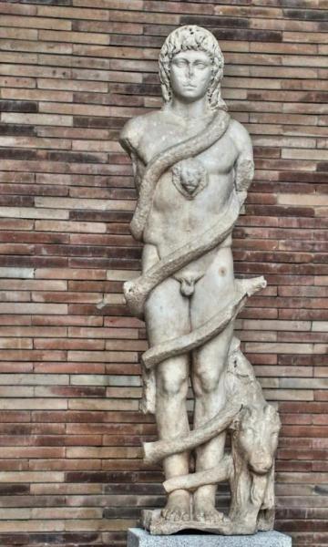 HISPANIA ROMANA Zervan Cronos - Escultura romana, Mérida