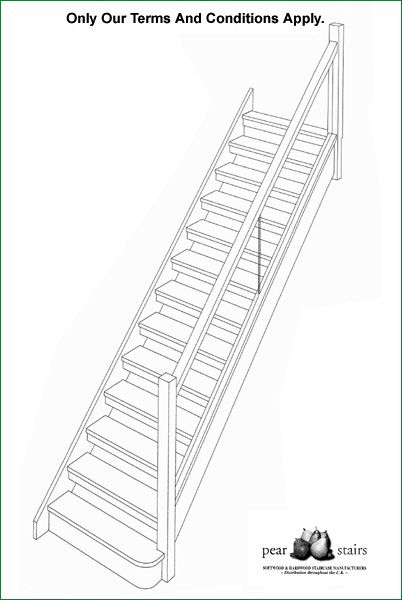 Cox Open Riser Staircase