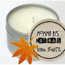 Eco Soy Home Fall Fragrance Candle Tin