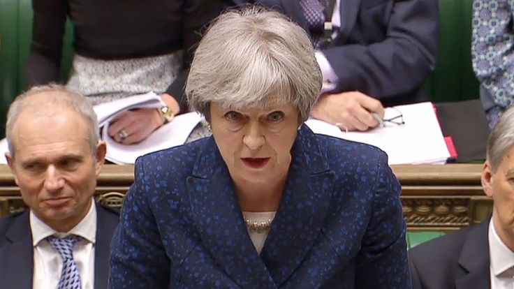 """#Theresa May #calls out """"#mansplaining"""" in Parliament..."""