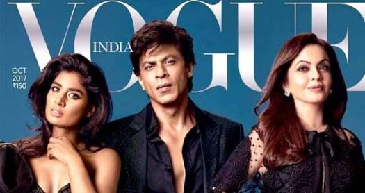 SRK And Mithali Raj Twinning In Black On The Latest Vogue Cover Leaves Us Swooning