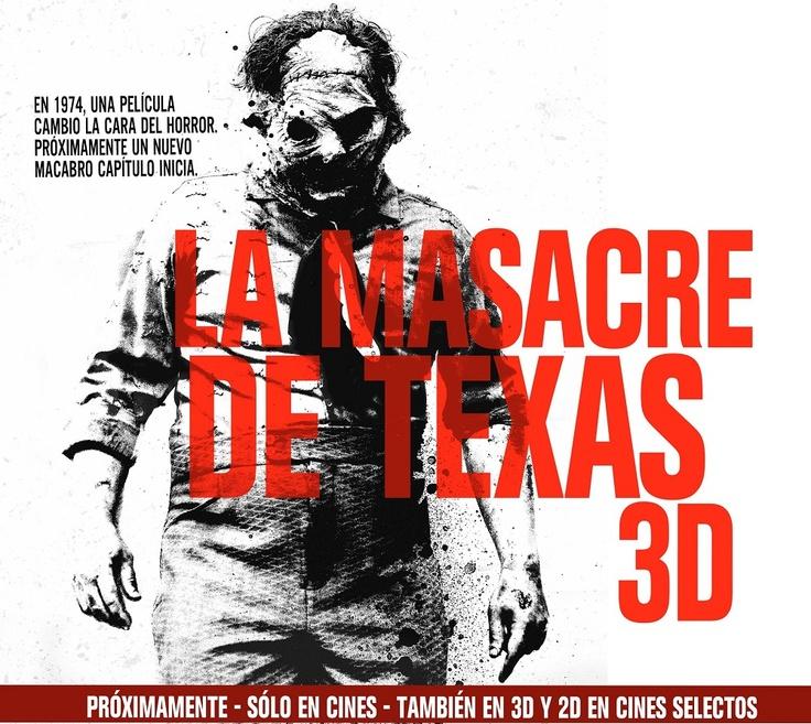 La Masacre de Texas 3D - Banner
