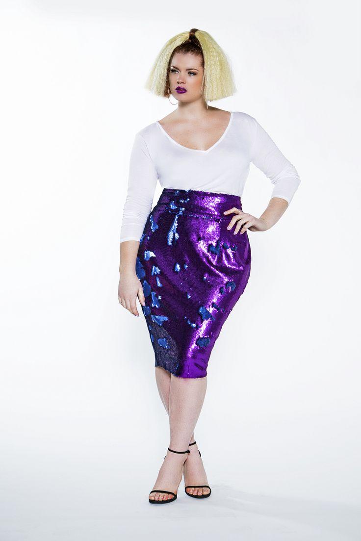 Mejores 279 imágenes de Plus size sequin outfits en Pinterest   Moda ...