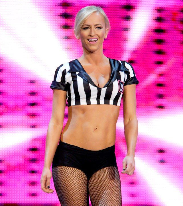 special guest referee summer rae dating