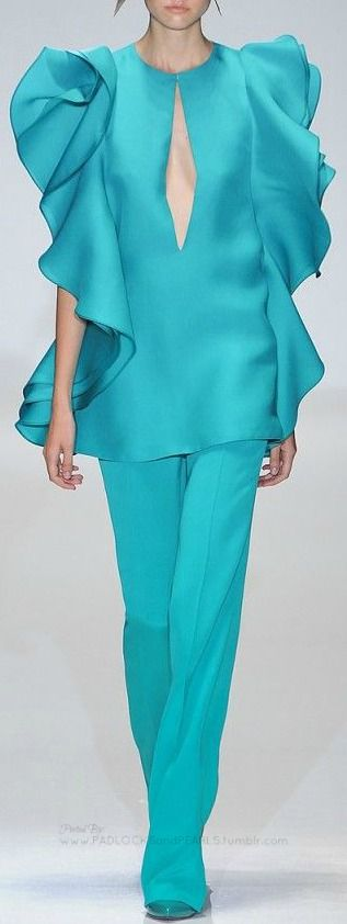 Turquoise | Aqua | fashion, catwalk, Gucci