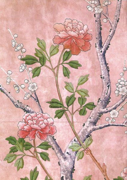 g+w collection :: chinoiserie shen de tang, pink