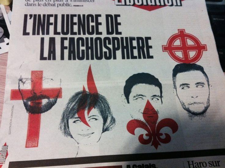 Le quotidien Libération a enflammé les réseaux sociaux avec sa Une consacrée à la «fachosphère», illustrée par, notamment, la croix chrétienne. Ce qui n'a pas du tout été du goût de certains internautes, se sentant ainsi insultés. La croix celtique, la...
