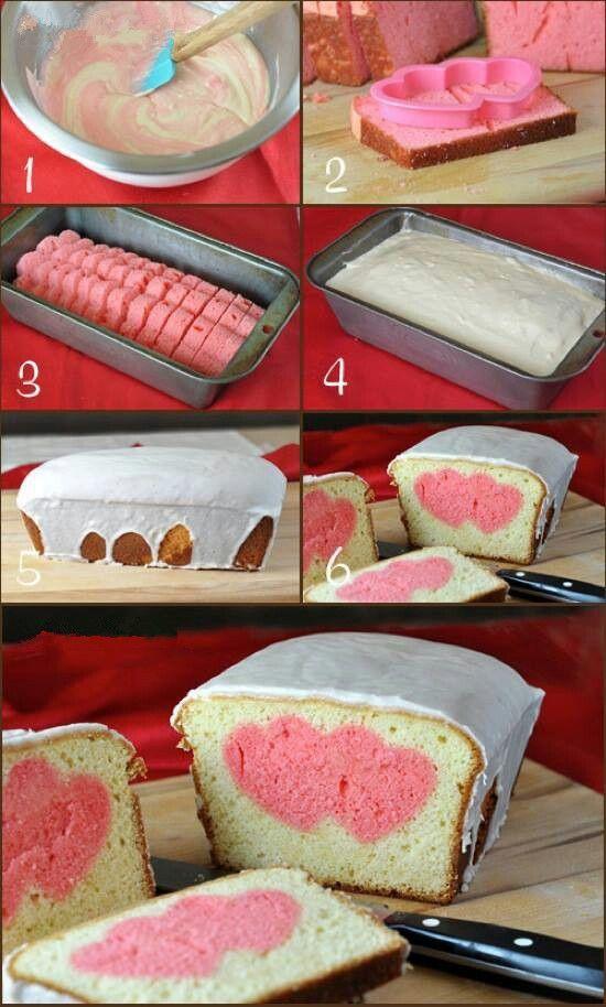 Double heart peekaboo bread!
