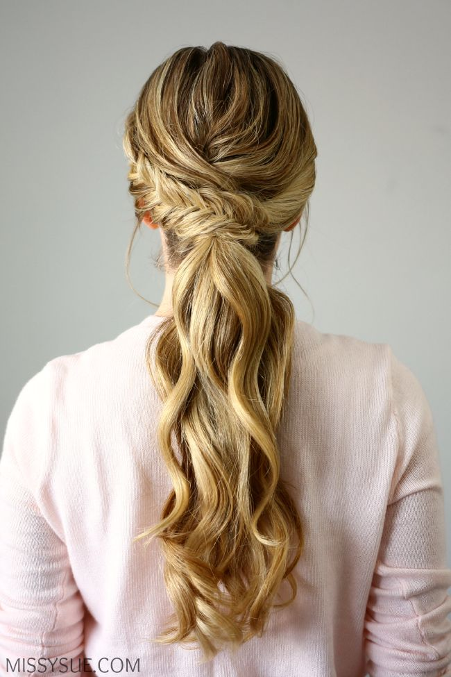 Best 25+ Wedding ponytail hairstyles ideas on Pinterest