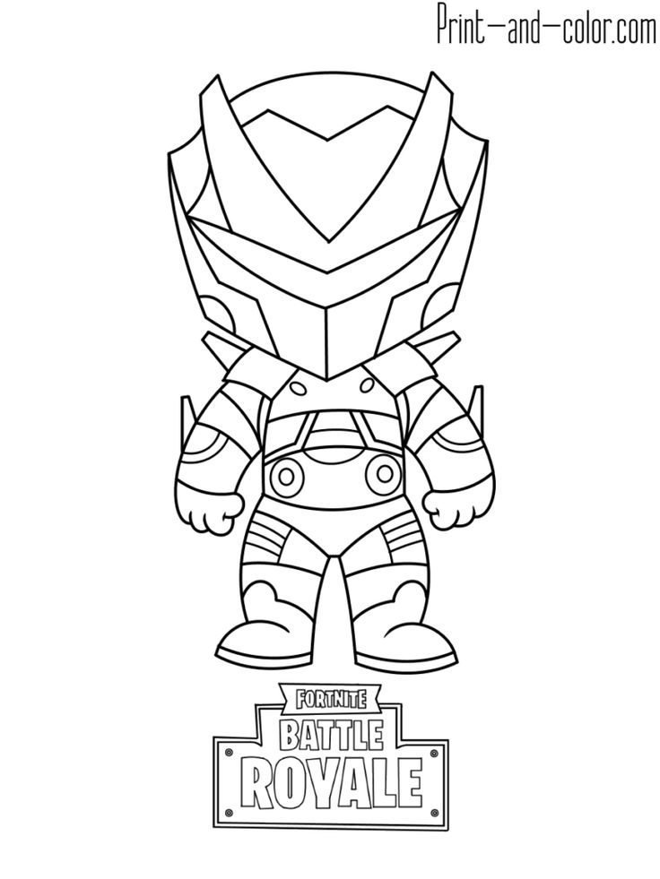 Fortnite battle royale coloring page Omega | Coloring ...
