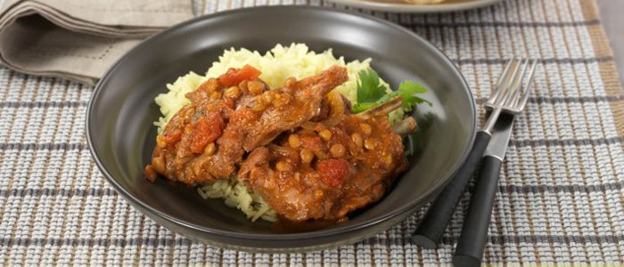 Slow Cooked Indian Spiced Lamb recipe from Food in a Minute