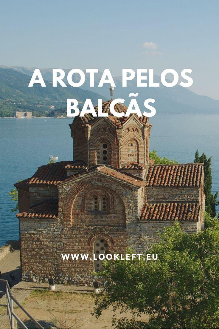 A rota pelos #Balcãs, passagem pela #Croácia, #Bósnia e #Herzegovina, #Montenegro, #Albânia, #Macedónia e #Grécia