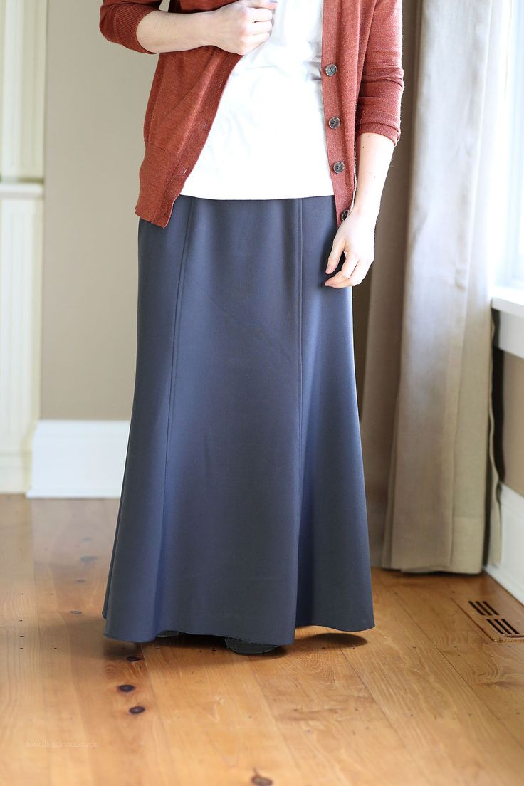 25 best Plus Size Long Skirts images on Pinterest