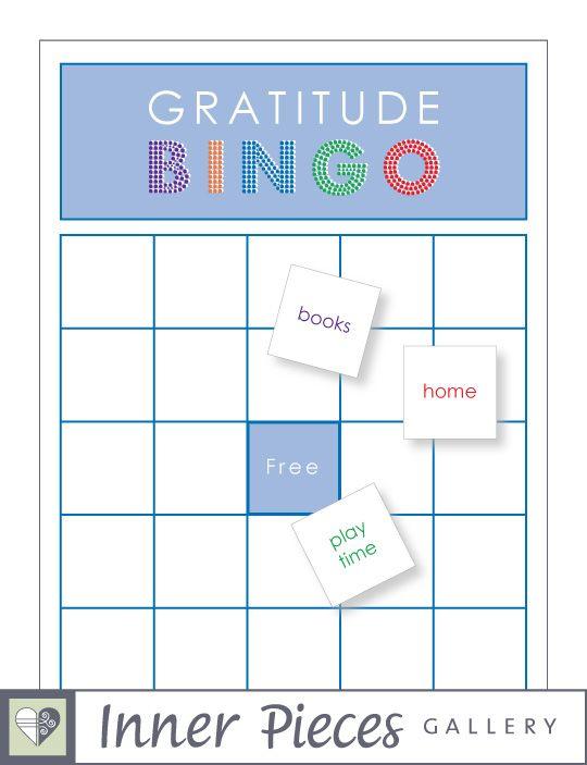 gratitude bingo game diy free printable includes 50 done for you gratitude tiles to start with. Black Bedroom Furniture Sets. Home Design Ideas
