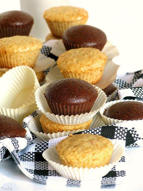 Verdade de sabor: Маффины без яиц и молока / Muffins sem ovo e sem leite