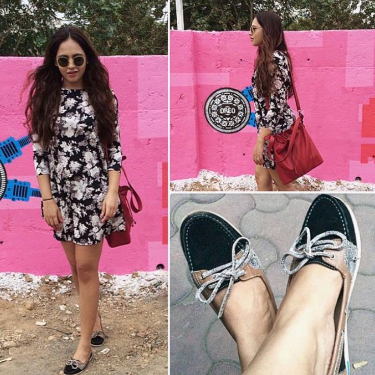 Monsoon Weekend Style mantra - A peppy dress and a pair of chic loafers to hop and skip and glide in.  You are looking at Isabelle from #vaphshoes styled by fashion blogger Aayushi of Styledrive.