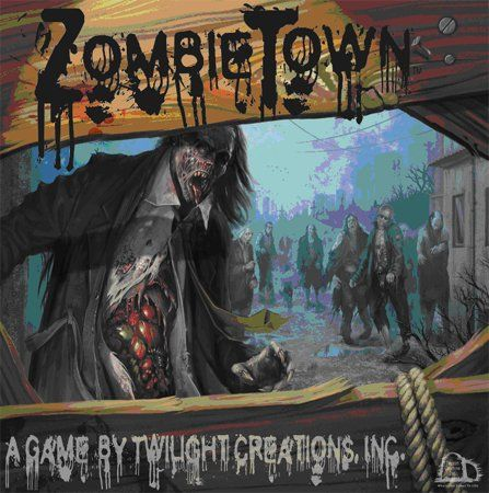 Zombie Town Board Game @ niftywarehouse.com #NiftyWarehouse #Zombie #Horror #Zombies #Halloween