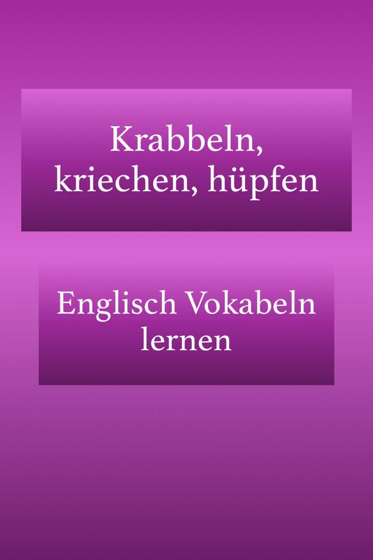 Krabbeln Englisch