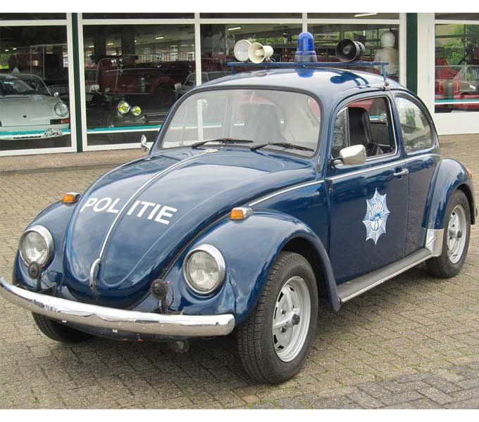 Politieauto's Oude Automerken (jaartal: 1960 tot 1970) - Foto's SERC
