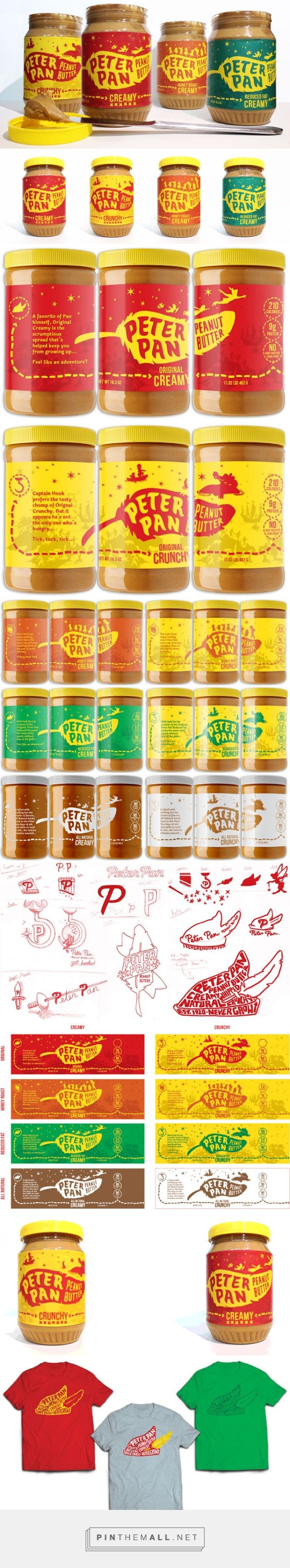 Peter Pan Peanut Butter (Student Project) - Packaging of the World - Creative Package Design Gallery - http://www.packagingoftheworld.com/2016/02/peter-pan-peanut-butter-student-project.html