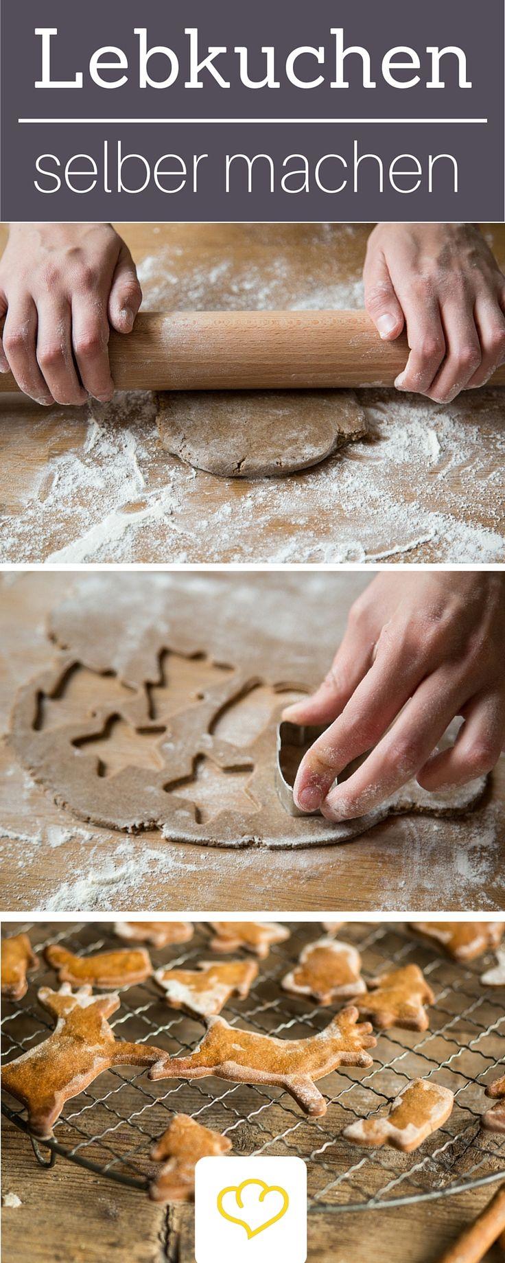 Weihnachten ohne Lebkuchen? Undenkbar! Schritt-für-Schritt erklärt wie du Lebkuchen ganz einfach zuhause selber machen kannst!