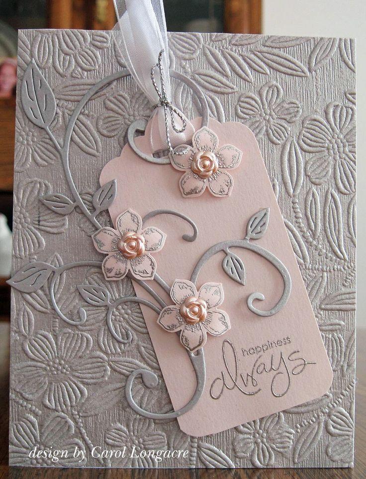 wedding card by Carol Longacre                                                                                                                                                                                 More #WeddingCards