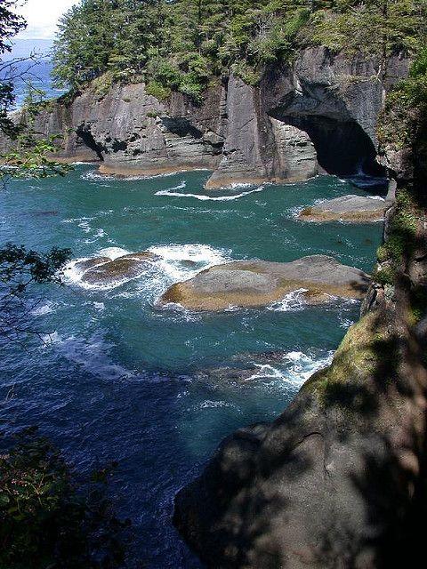 Water Caves. Neah Bay, Washington.