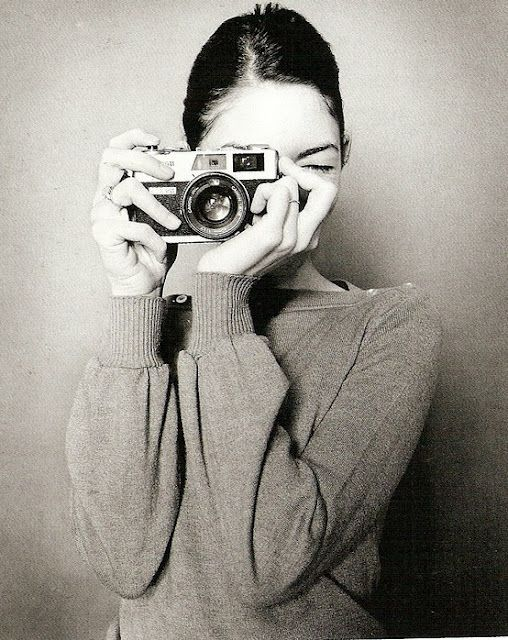 Sofia Coppola and a Canon