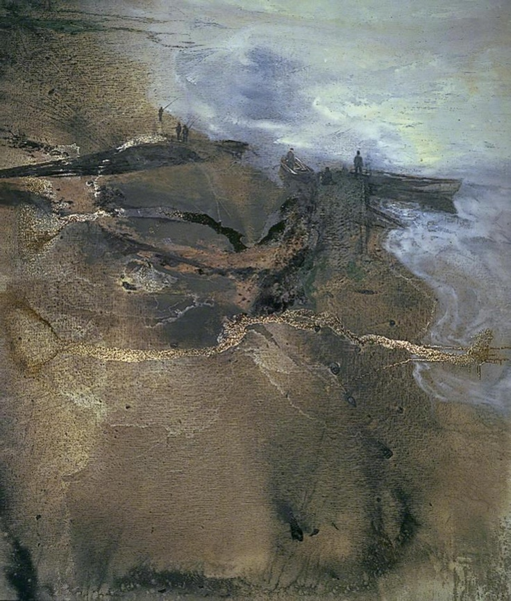 Thames Painting: The Estuary (Mouth of the Thames) by Michael Andrews 1994-5