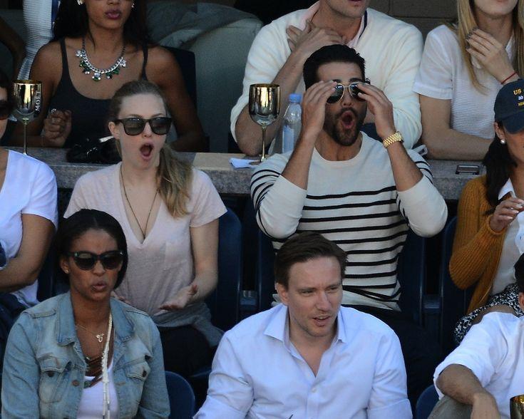 IlPost - Gli attori americani Amanda Seyfried e Jesse Metcalfe alla finale del singolare femminile tra la bielorussa Victoria Azarenka e la statunitense Serena Williams, 8 settembre 2013. (Brad Barket/Getty Images for Moet