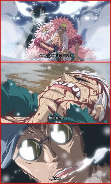 It really sucks Aokiji is allied with Blackbeard. I really like him and it just sucked to know he's allied with that dickhole.