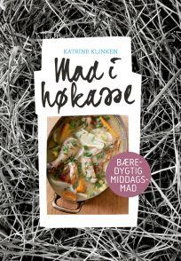 Hæftet »Mad i høkasse« af Katrine Klinken. Bæredygtig middagsmad med høkassekogning