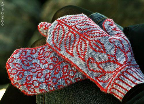 Lotus Leaf mittens