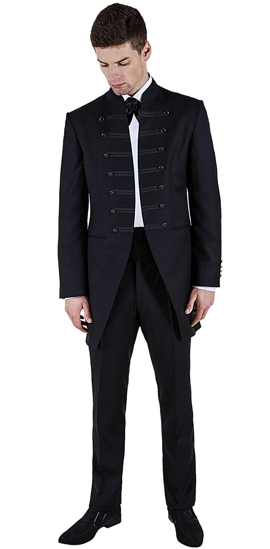 garnitur ślubny czarny,garnitur ślubny,garnitur do ślubu,garnitur do ślubu czarny,surdut,marynarka surdutowa,garnitur taliowany,garnitur na ślub,szycie na miare,szycie miarowe,new men style,moda męska,spodnie męskie