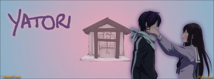 Yato and Hiyori Iki from Noragami, FB Cover size