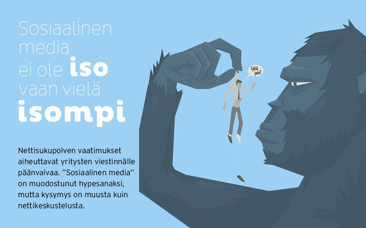"""Sosiaalinen media ei ole iso vaan vielä isompi. Nettisukupolven vaatimukset aiheuttavat yritysten viestinnälle päänvaivaa. """"Sosiaalinen media"""" on muodostunut hypesanaksi, mutta kysymys on muusta kuin nettikeskustelusta."""